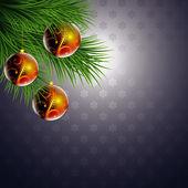Vánoční koule — Stock vektor