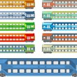 Royalty-Free Stock Vector Image: Train coach