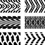 Tyre pattern — Stock Vector
