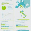 Italy Infographic — Stock Vector
