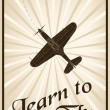 Learn to fly — Stock Vector #22834024