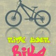 Ride your bike - Stock Vector