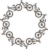 Bike circle — Stock Vector