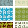Seamless pattern pack — Stock Vector #3793309
