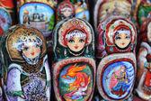 Matryoshka dolls — Stock Photo