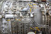 Flugzeuge-strahltriebwerk — Stockfoto