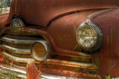 Rusty Pontiac Streamliner — Stock Photo