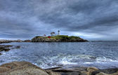 Cape Neddick Lighthouse — Foto de Stock