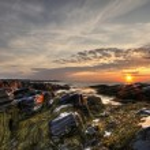 Wood Island Lighthouse Sunrise 04 — Stock Photo