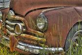 Rusty Pontiac Streamliner 3 — Stock Photo