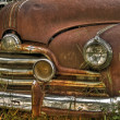 Rusty Pontiac Streamliner 50 — Stock Photo
