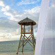 Tropical watchtower 78 - Stock Photo