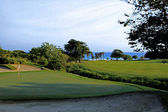 Ocean side golf course 34 — Stock Photo