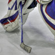 Stock Photo: Goalie pads