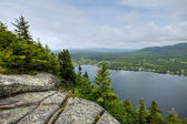 Lakeview from mountain 45 — Stock Photo