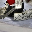 Stock Photo: Goalie pads 57