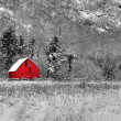 Stock Photo: Red Barn 48