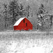 Stock Photo: Red Barn 41