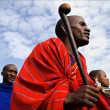 Dancing Maasai portrait. — Stock Photo #14551647