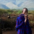 Portrait of maasai man. — Stock Photo #14551675