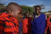 Masai men. — Stock Photo