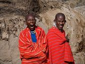 Two maasais. — Stock Photo