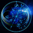 Astrology Dial — Stock Photo #12578061