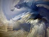 Fractal Paint Stream — Stock Photo