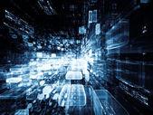 Realiteit van virtuele ruimte — Stockfoto