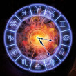 Horoscope clock — Stock Photo #12688947