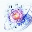 Abstract clock background — Stock Photo #12689029