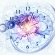 Abstract clock background — Stock Photo #12689030