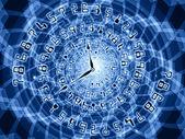 Manos del tiempo — Foto de Stock
