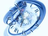 Abstração de tempo — Foto Stock