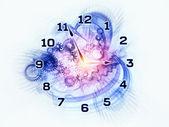 时间扭曲 — 图库照片