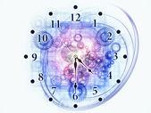 动态的时间 — 图库照片