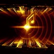 Waves of sound — Stock Photo #12690364