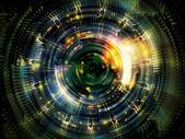 Disco virtual fractal — Fotografia Stock