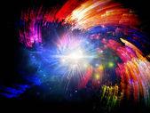 życie wewnętrzne kolorów — Zdjęcie stockowe