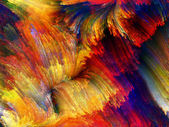 Aceleración de color — Foto de Stock