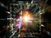 Paradigm of Virtual Space — Stock Photo