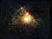 Glow of Network — Stock Photo
