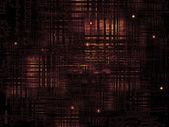Textura tecnológica escura — Fotografia Stock