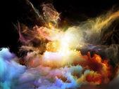 Inner Life of Nebulae — Stock Photo