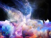 Inner Life of Nebulae — Stock Photo