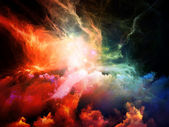 Colorful Nebulae — Stock Photo