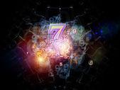 Kavramsal numaraları — Stok fotoğraf