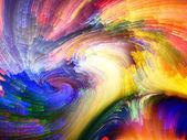 фрактальная краска ускорение — Стоковое фото