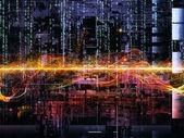Way of Digital Network — Stock Photo