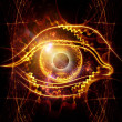 Eye of artificial intelligence — Stock Photo #13504108
